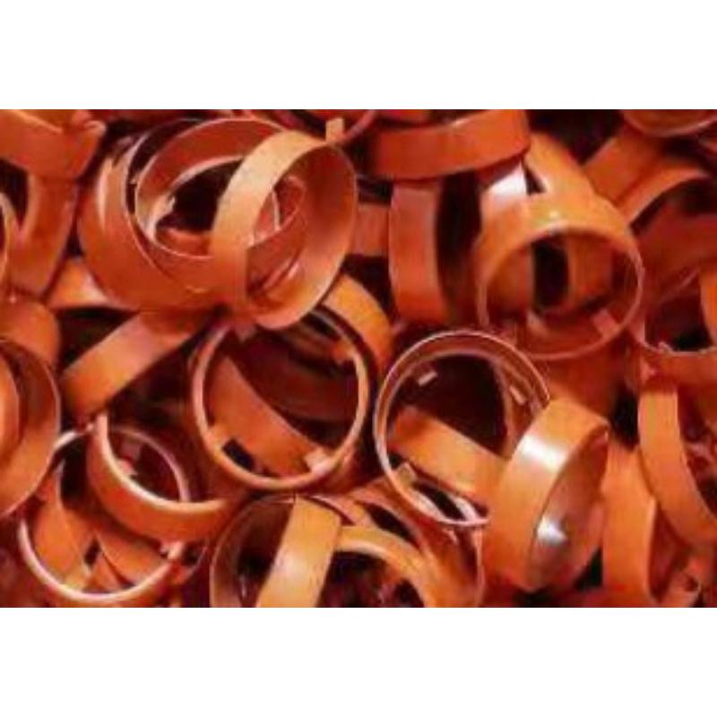 Rögzítő gyűrű építő és ásólapátokhoz narancssárga keskeny